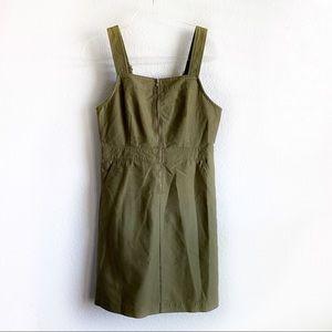 J. Crew olive green jumper dress